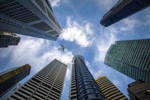 siedziby banków - drapacze chmur